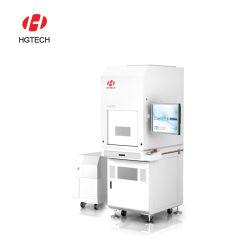 الناقل بقوة 3 واط، 5 واط، علامة ليزر تعمل بالأشعة فوق البنفسجية، آلة الطباعة على المنحدرات لـ مصنع تغليف طعام الحليب