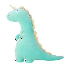 Hoofdkussen van het Lichaam van het Stuk speelgoed van de Pluche van de Dinosaurus van de Eenhoorn van de Baby van de douane het Zachte Gevulde Dierlijke Volledige
