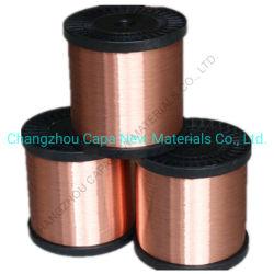 0.81, 1.02mm CCS Draht/Kupfer-plattierter Stahldraht für Koaxialkabel Rg59 RG6