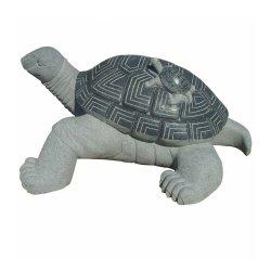 Big Tortoise transportando pouco Estátua de granito Tartaruga Pedra Escultura Animal