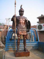 تمثال النحت البرونزي لتمثال الجندي بالحجم الطبيعي (B035)