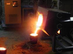 Chemischer Widerstand-hoher Reinheitsgrad-Graphittiegel zugetroffen auf Goldlegierungs-Ofen