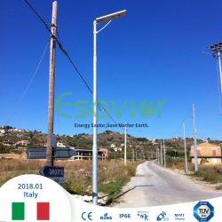 Todo integrado en una calle de la Energía Solar LED de iluminación del jardín de la luz de la luz del sensor de movimiento