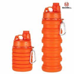 Sport Outdoor Reisen Bunte Silikon 700ml 200g verschiedene Farben und Styles Lebensmitteltaugliche Wasserflasche