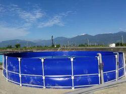 Superzusammenklappbares Koi Becken-runder faltender Fisch-Plastikteich qualitäts-Belüftung-