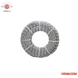 8.8Mm 33/M Diamante Plástico Serra de fio de mármore de perfil