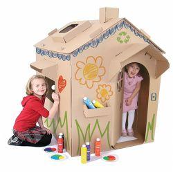 Play House Tent Giocattolo Pieghevole Per Bambini E Interno