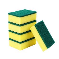 Almofada de esponja de limpeza preço de fábrica para uso da cozinha esponja Esfregões