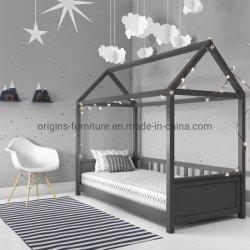 La vente en gros bois de pin lit bébé en bois de bébé