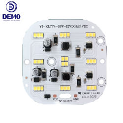 Laagspanning DC 10-36V 18W 130 LM/W Ra80 lineair vierkant Aluminium SMD LED module PCB PCBA voor machine Tool lamp En voertuigen