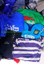 China Wholesale Used Summer Clothing Hoge kwaliteit Tweedehands gebruikte Mannen Kinderkleding in balen van 45 kg