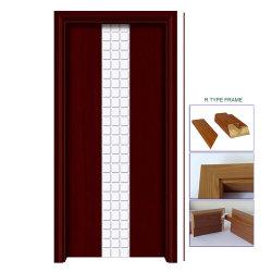 Madeira madeira moderna construção interior MDF porta embutida