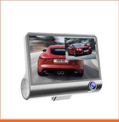 3 レンズ駆動レコーダー 1080p HD カー DVR ダッシュカメラ リヤカメラおよび G センサ付きビデオレコーダー