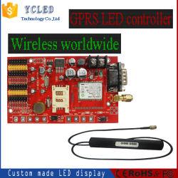 وحدة تحكم في إشارة تمرير رسالة مؤشر LED اللاسلكي GPRS حول العالم