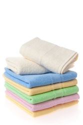Microfiber Auto-Wäsche-Tuch Microfiber Cleaning Ägyptische Baumwollbadezimmer Bath&#160 des Tuch-breiter Schaftmaschine-Rand-weißes Hotel-100; Tuch (29)