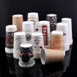 갈 것이다 최신과 찬 음료 컵 커피 우유 차의 덮개 Soya-Bean 우유 포장 컵을%s 가진 처분할 수 있는 종이컵 전복 상업 어음 컵