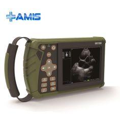 Am-Vet6 ordinateur de poche des animaux de ferme à usage vétérinaire Vet Doppler couleur Canine Test de grossesse de lard échographe