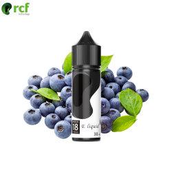 RCF nieuwe synthetische nicotine 0 nicotine maar met een keel Raak Blueberry fruit E Liquid