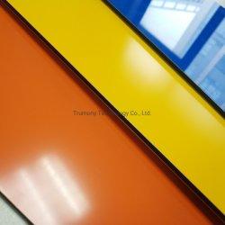 높은 광택 색깔 클래딩 벽 ACP 알루미늄 합성 위원회