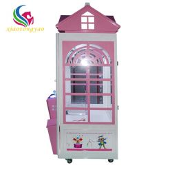 Indoor Münze Betrieben Geschenk Erlösung Vending Claw Puppe Spielmaschine