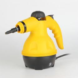 Dispositivo de bolsillo multiuso limpiador de vapor a presión con 9 Piezas de accesorios para la Eliminación de manchas, el vaporizador, alfombras, cortinas, los asientos del coche, y mucho más superficie de cocina