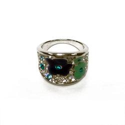 Ring van de Juwelen van de Manier van de goede Kwaliteit de Imitatie met de Bergkristallen van de Bloem