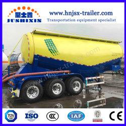 低密度粉末バルクセメントカーゴ輸送タンク半型 トレーラー