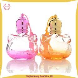 Eindeutige Form-Rolle auf Duftstoff-Glasflasche mit buntem Überzug