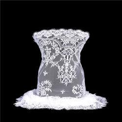 Nouvelle arrivée de la dentelle robe de mariée de Tissu Tulle Elegent Organza tissu dentelle française