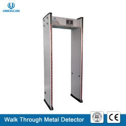 33/36 di metal detector di progressione di zone con telecomando infrarosso