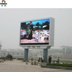 Electronic P8 P10 de la publicité pleine couleur signe à affichage LED