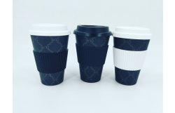 Биологическому разложению и печатаются Non-Toxic бамбуковые волокна поездок// чашки кофе чашку