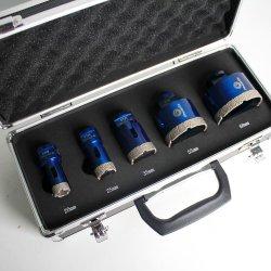 Raizi Diamantbohrer Bohrer Set für Keramikfliesen Granit Marmor 20/25/35/55/68 mm