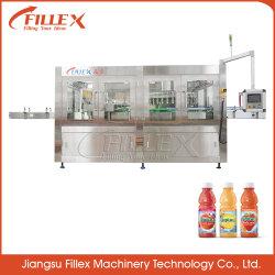 ماكينة ملء زجاجات المشروبات ذات الطاقة الأوتوماتيكية بالكامل