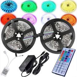 Custom неоновыми коснитесь 5050 44кнопок пульта дистанционного управления 5 м 10м 15m RGB со светодиодной полосы света