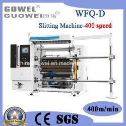 Máquina de corte automático de alta velocidade para o filme plástico