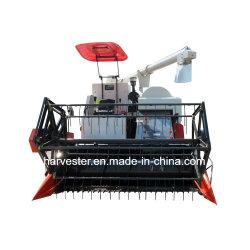 المعدات الزراعية الزحاف الجنزير المطاطي حصادة الأرز بزاوية 360 درجة مماثلة للحصادة Kubota