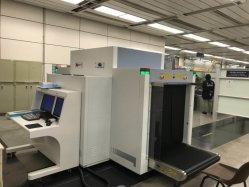At100100d 듀얼 뷰 이미징 공항 X선 보안 수하물, 두 대의 발전기를 갖춘 수하물 스캔 검사 스캐너, 팁 기능 및 폭발성 감지