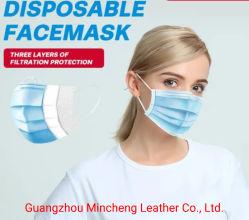 3 Слойные одноразовые Non-Woven защитные защиты Earloop Bfe 90% 95% маску для лица