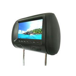 유니버설 휴대용 DVD와 MP5 선수를 위한 7 인치 스크린 차 머리 받침 모니터