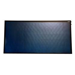 100L/200L blauer/schwarzer Film-Laser-Schweißens-flache Platten-Sonnenkollektor für Solarheißwasserbereiter