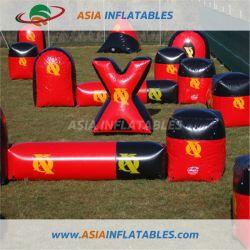 De populaire Opblaasbare Spelen van de Hindernissen Paintball van de Bunker van de Muur Opblaasbare