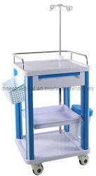 جديدة تصميم [أبس] بلاستيكيّة متحرّك مستشفى جهاز رعأية حامل متحرّك الطبّ حامل متحرّك [بسد-كت625ه2]