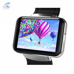 Dm98 Bluetooth 지능적인 시계는 2.2 인치 인조 인간 OS 3G Smartwatch 전화 Mtk6572 사진기 WCDMA GPS 코어 이중으로 한다