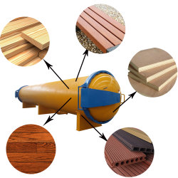 La madera de vacío presión de la impregnación autoclave