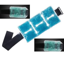 Terapia de frio reutilizável desejosos de punho Tornozelo do Braço de Cintagem de gel de Compress Frio Quente Pack