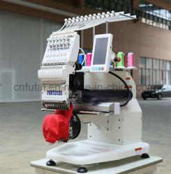 Fortever tête simple Machine à broder compacte pour vêtements, chaussures et accessoires