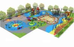 PET Vorstand-im Freienspielplatz-Spiel-Haus für Kinder
