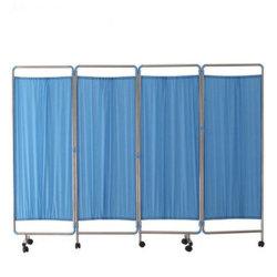 L'hôpital en acier inoxydable Ward Hôpital de l'écran de pliage meubles (SLV-E4005)