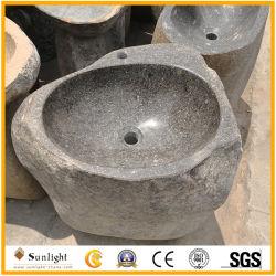 Lavabo esterno autonomo del granito naturale di alta qualità